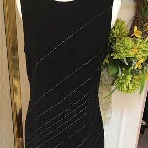 Beautiful Black Sheath with Sequin Detail